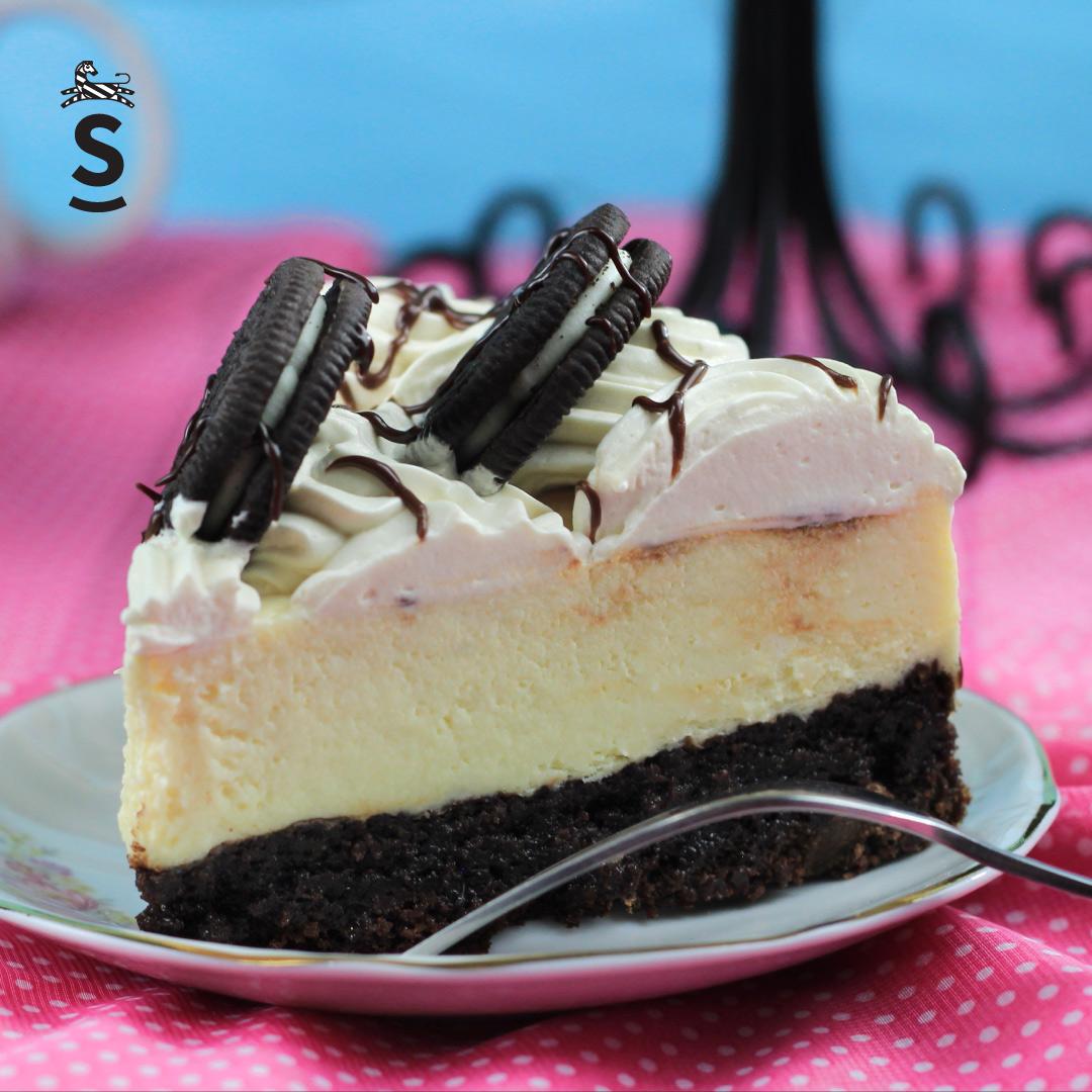 Sucrée - Los Pasteles de Luzma - Cheescakes - Brownie Cheescake Oreo
